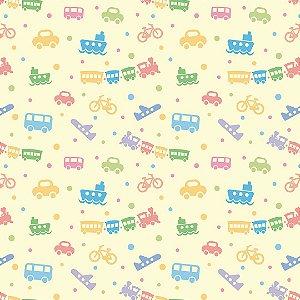 Papel de Parede Adesivo Baby Toys