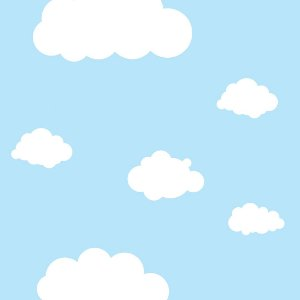 Papel de Parede Adesivo Infantil Sky
