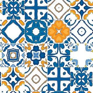 Papel de Parede Adesivo Azulejo Elvas