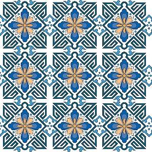 Papel de Parede Adesivo Azulejo Porto