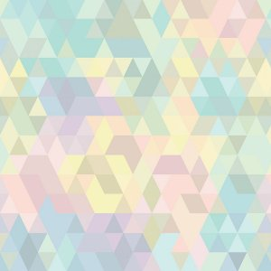 Papel de Parede Adesivo Geométrico Alegra