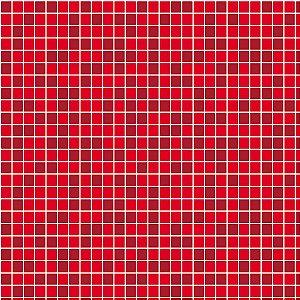Papel de Parede Adesivo Pastilha Vermelho