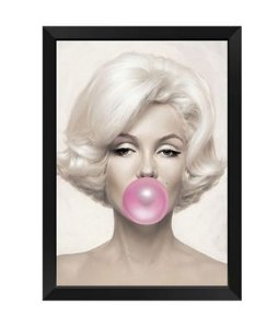 Quadro Marylin Monroe Chiclete