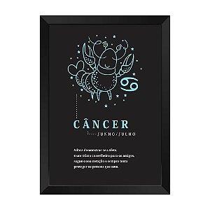 Quadro Decorativo Signo Câncer