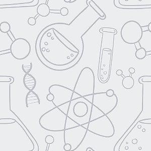 Papel de Parede Adesivo Casual Ciência