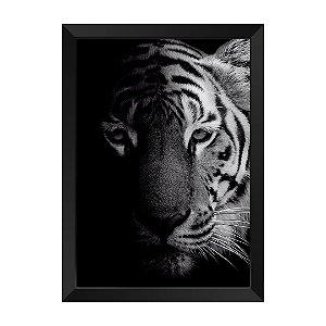 Quadro Tigre P&B