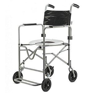 Cadeira de Rodas Banho DB Aço Jaguaribe