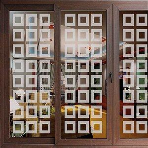 Adesivo Jateado 30 blocos - 1,80 x 0,57 cm
