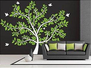 Adesivo Decorativo Árvore 1,76x1,30 em duas cores a sua escolha