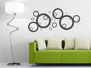 Adesivo Decorativo Bolhas 120x56 7101