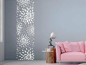Adesivo Decorativo Faixa Floral 190x47 cm 2301
