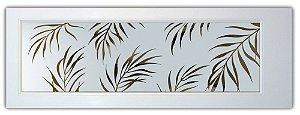 Adesivo jateado folhagens de palmeiras 2 un. 2365x920 - 1 un. 2,35 X 92