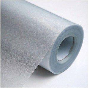 Adesivo jateado Fosco 1 pç 0,65X1,86 m e 1 pç 1,47x1,86 m.