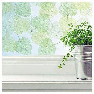 Película folhas verdes  M²