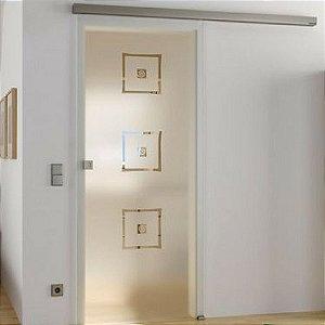 Adesivo Jateado  Para Portas ou Janelas 124