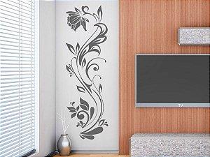 Adesivo de parede - Arabesco Floral