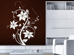 Adesivo de parede - Floral