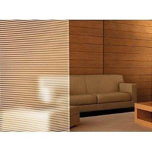 Adesivo Decorativo Jateado - Faixas 100x100 cm (listras de 2cm e vazado de 1 cm)