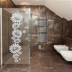 Adesivo jateado - flor 5 - 030x100 cm
