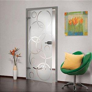 Adesivo jateado para portas - 210x060 - Outras medidas, consulte