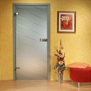 Adesivo decorativo jateado para portas - 210x060cm - Outras medidas consulte-nos