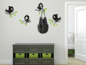 4 Pássaros engraçados