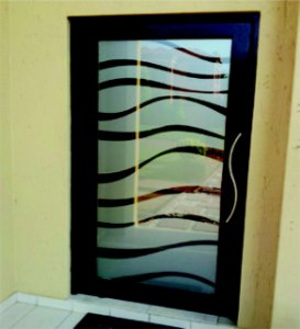 Adesivo Jateado Para Portas, Janelas e Box de Vidro Ads035 Mitsui  210x100 cm