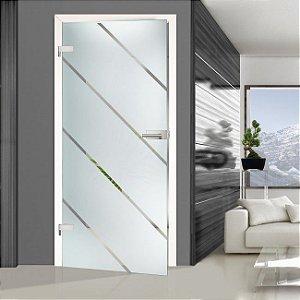Adesivo Jateado Para Portas, Janelas e Box de Vidro Ads030 Mitsui  210x100 cm