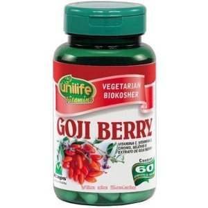 GOJI BERRY 500MG C/60CAPS UNILIFE