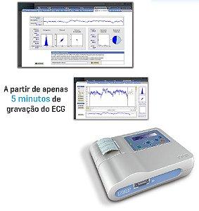 Eletrocardiógrafo Portátil C30+ Com Modulo de Variabilidade - VAL