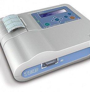 Eletrocardiógrafo Portátil C30+ TEB com Módulo de Vetocardiograma