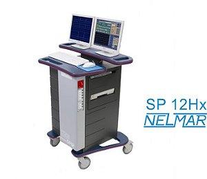 Poligrafo TEB SP 12 HX Com Débito Cardíaco e Oximetria de Pulso