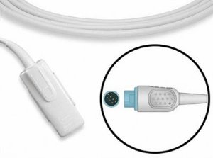 Sensor de Oximetria Compatível com Nihon Kohden