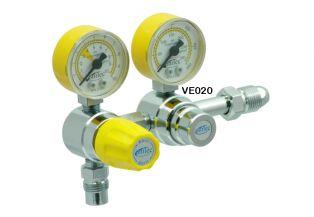 Válvula Reguladora para Cilindro de Duplo Estágio Ar Comprimido