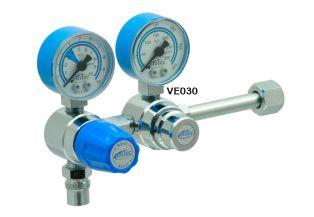 Válvula Reguladora para Cilindro de Duplo Estágio Óxido Nitroso