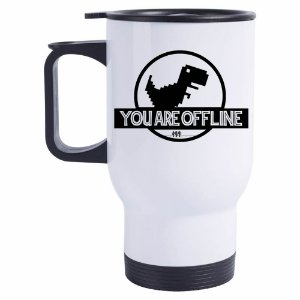 Caneca Térmica You Are Offline