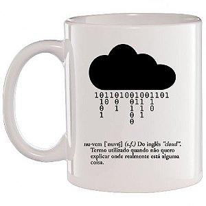 Caneca Branca Cloud / Nuvem