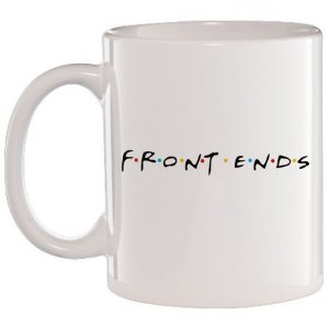 Caneca Branca Front Ends