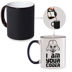 Caneca Mágica I Am Your Coder