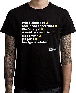 Camiseta Prazo Apertado
