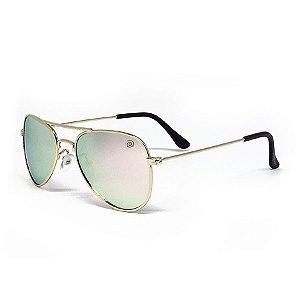 Óculos de Sol Aviador - Rose