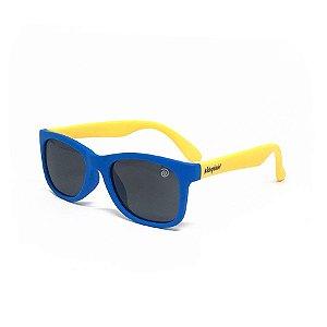 Óculos de Sol Flexível - Azul e Amarelo