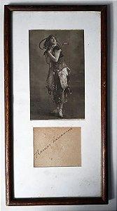 Fotografia Autografada por Thamar Karsavina, Bailarina Russa