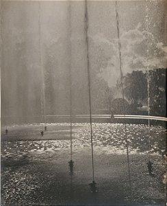 JEAN LECOCQ - Fotógrafo Premiado - Fotografia Original , Jatos de Água na Fonte - 40x30cm