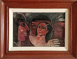 Yvete Ko  - Quadro, Pintura Óleo sobre Tela, Assinado