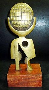 Becheroni, Elvio - Escultura em Bronze Figurativo Masculino