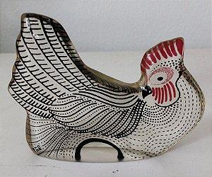 Palatnik - Escultura em Acrílico Assinada, Figura de Galinha