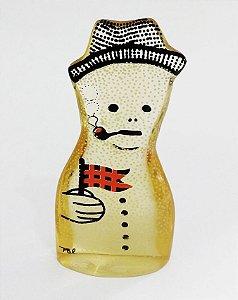 Palatnik -  Escultura Cinética em Acrílico Boneco Neve, Assinada