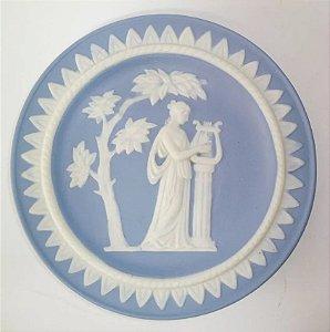 Wedgwood - Placa Decorativa de Parede em Porcelana Biscuit