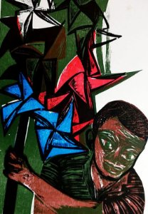 Emanoel Araujo - Gravura Xilogravura Original Assinada, 1969